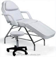 hot sell beautiful tattoo chairs professional white include small seat