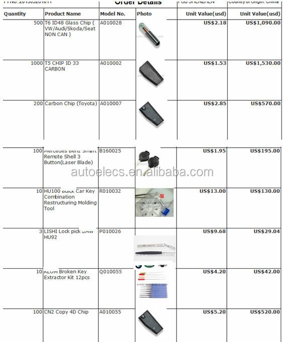 Car Key Chip For Toyota H Transponder Chip 128bit H 8a Chip Buy