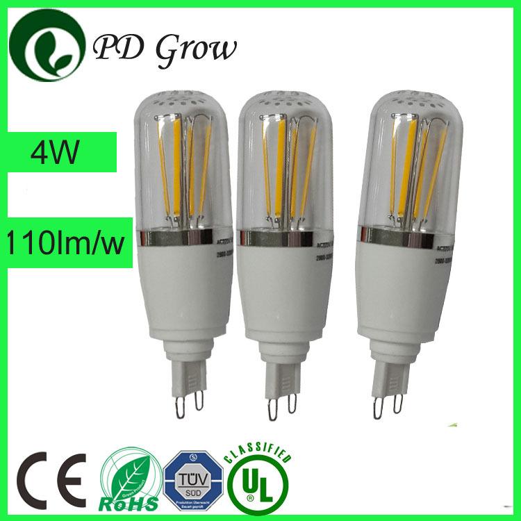 G4 G9 Edison Filament Vintage Cob Led Licht Lampe Retro Bulb E27 4w ...