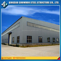 High Rise Prefab Structure Steel Buildings Welding Auto Workshop Design