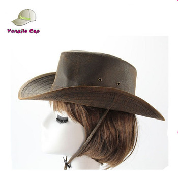 Top Quality Leather Cowboy Hats 972820266d4