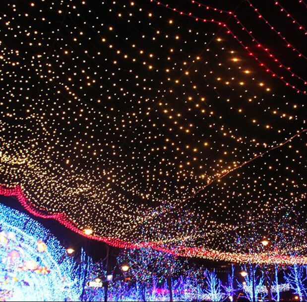 falling star led christmas lights 10m 20m 30m 50m 100m 12v 24v 110v 220v 240v