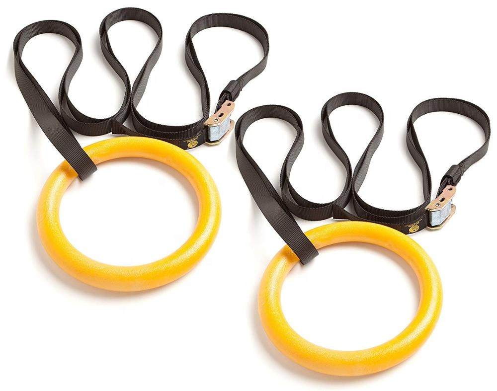 Yoga-sets fitness training ausrüstung gym ring gymnastic ringe