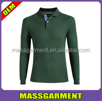 Long sleeve polo 50 cotton 50 polyester t shirts for men for 50 percent cotton 50 percent polyester t shirts