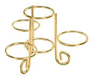 4 Ring Egg Display Stand-Gold Finish