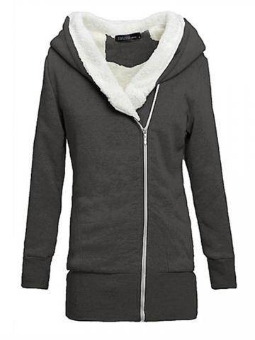 Walson Instyles New Winter Womens Ladies Cotton Hooded Coat Sports