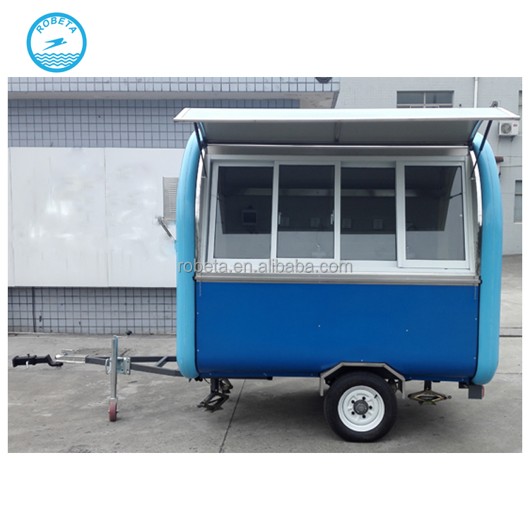 food trailer cart in Hand Carts & Trolleys/Alibaba China food trucks mobile food cart/China supplier food transportation truck