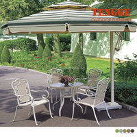 Patio Table And Chairs With Big Umbrella