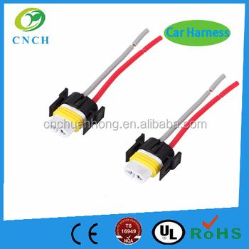 Haed Light Ceramic Repair H11 Connector Plug Hid Wire Pigtail ...
