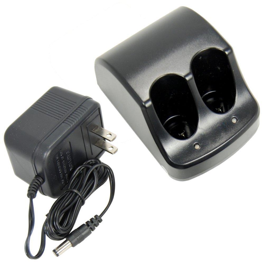 Light Seller® Dual Battery Charger for Black & Decker 3.6V Versapak VP100 VP110 22-4040 22-4035 VP130 VP100C VP105C VP110C 152370-03 Power Tools (TO-36-C)