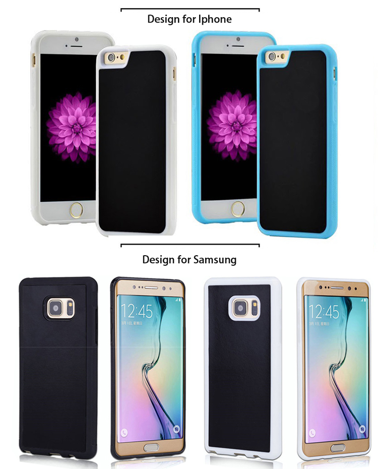 2018 trending products sticky anti gravity case for iphone X