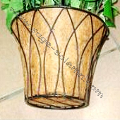 Hot Sale 12inch Wrought Iron Garden Coco Liner Hanging Planter ...