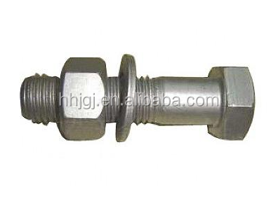 Round Head Torsion Shear Bolt with Dacromet Finish M16 in933 din931 carbon steel hexagon bolts dacromet