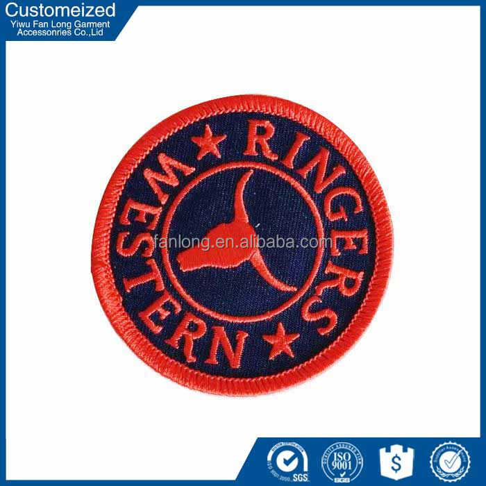2016 best design custom patch embroidery wholesale