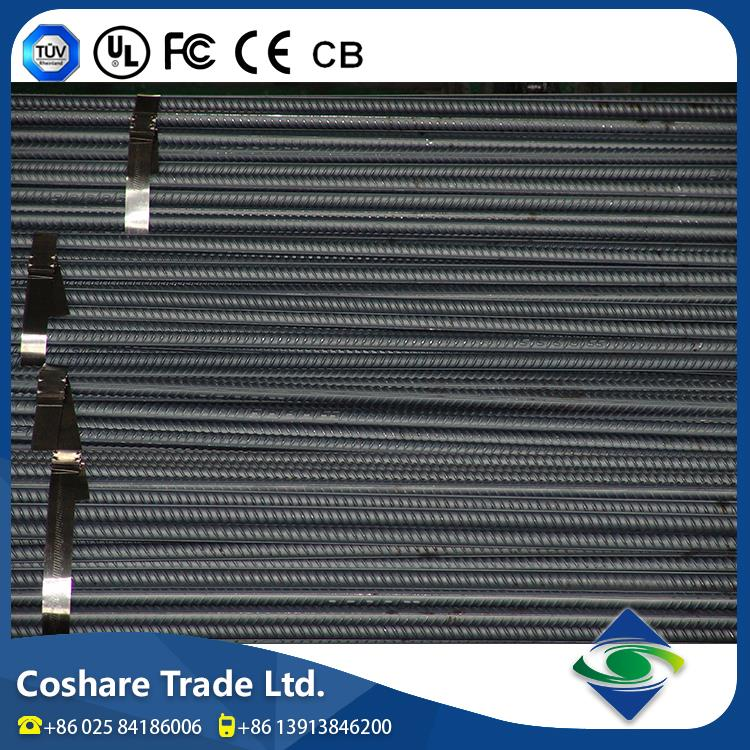 Coshare CE Certificate Factory Price hot rolled steel rebar b500