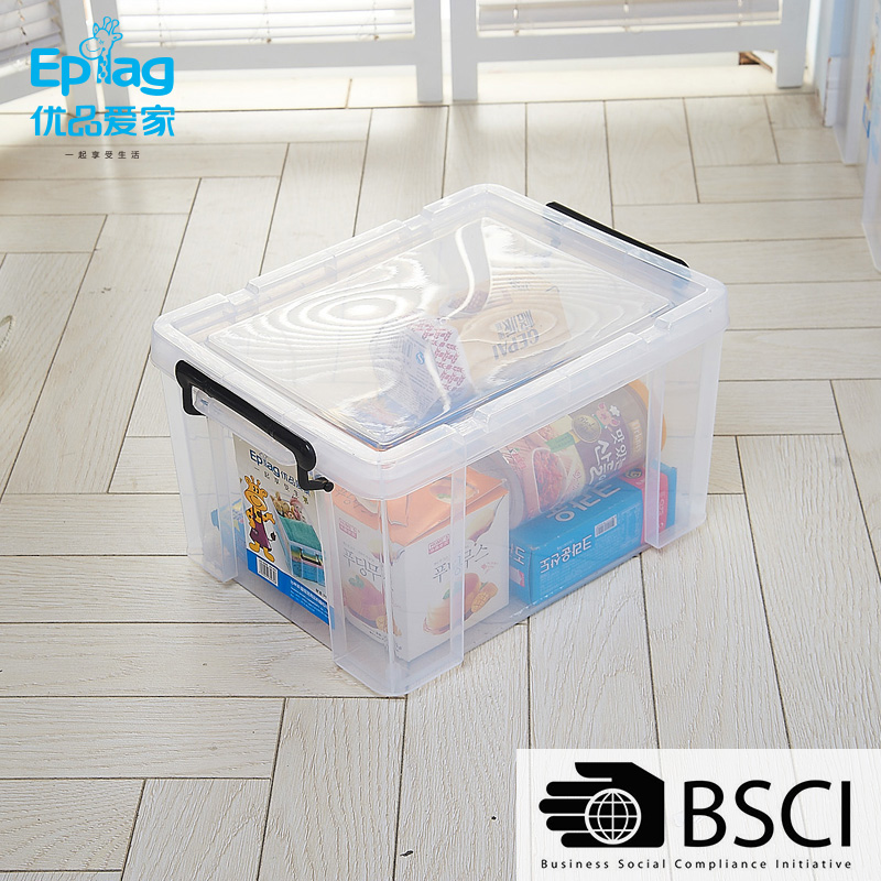 high quality cheap plastic storage box plastic wicker storage basket with dividers