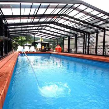 Swimming Pool Screen Enclosure Kits - Buy Swimming Pool Screen Enclosure  Kits,Polycarbonate Swimming Pool Cover,Swimming Pool Enclosure Product on  ...