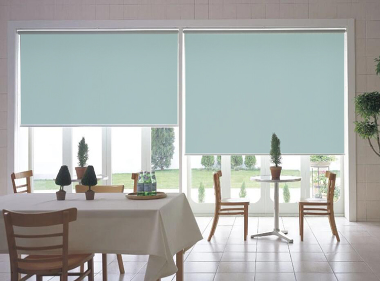 Temporary blinds curtains roller custom window shades home