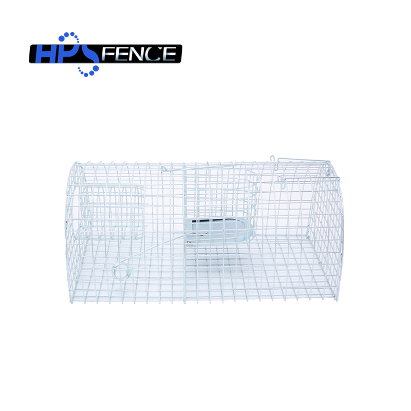 Pest control galvanized wire mesh rat trap for catching mouse