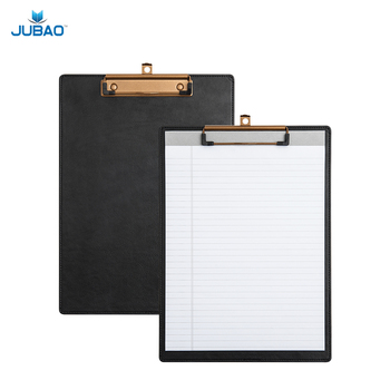 Letter Size PU Hanging Clipboard With Low Profile Clip