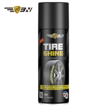 factory sale excellent spray Tire shine/tire cleaner 450ml