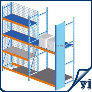 Knock-down Metal Shelving System/Pallet Shelf Steel /Steel Tube Storage Rack
