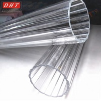 Wholesale plastic acrylic tube for led lighting