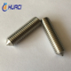 china factory wholesale price ss 304 316 430 m5.5 hex socket tungsten set screws for glass table