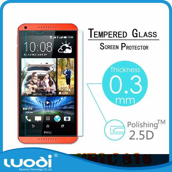 Mobile Phone Tempered Glass Screen Protector for HTC Desire 816