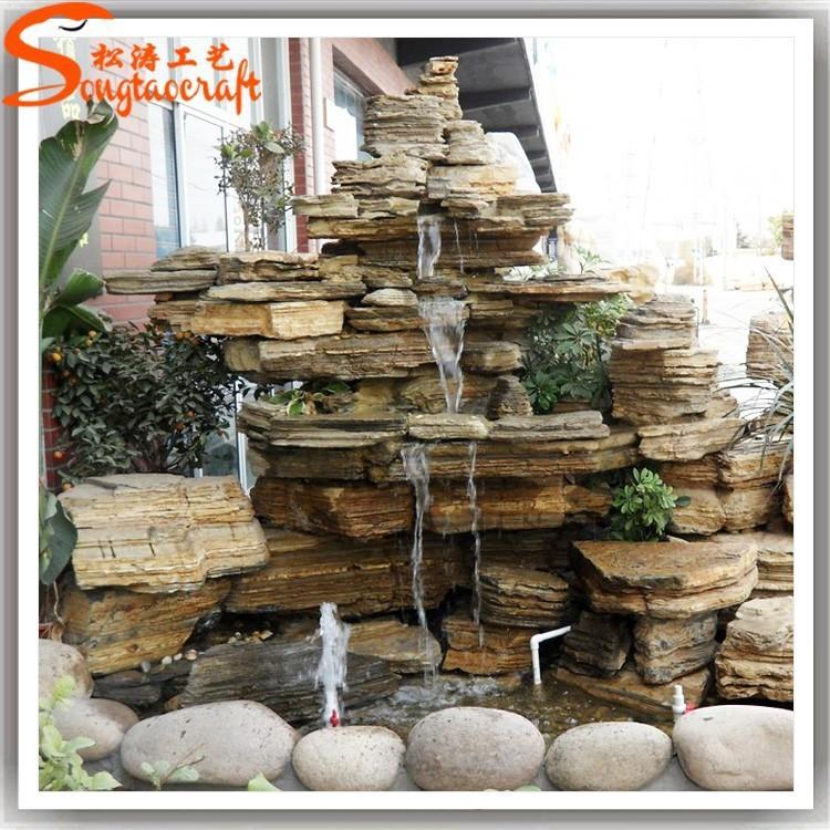Fuente del jard n para la venta jard n fuente de agua de - Piedra decorativa jardin ...