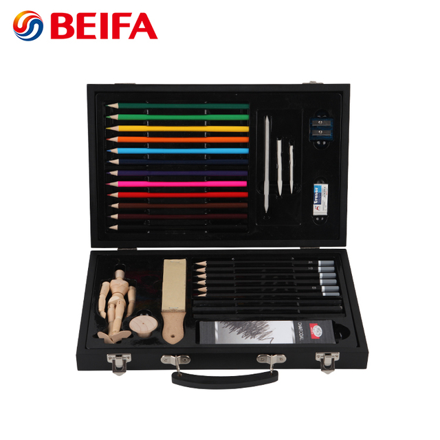 Beifa brand color painting set art professional kids painting set for children adults