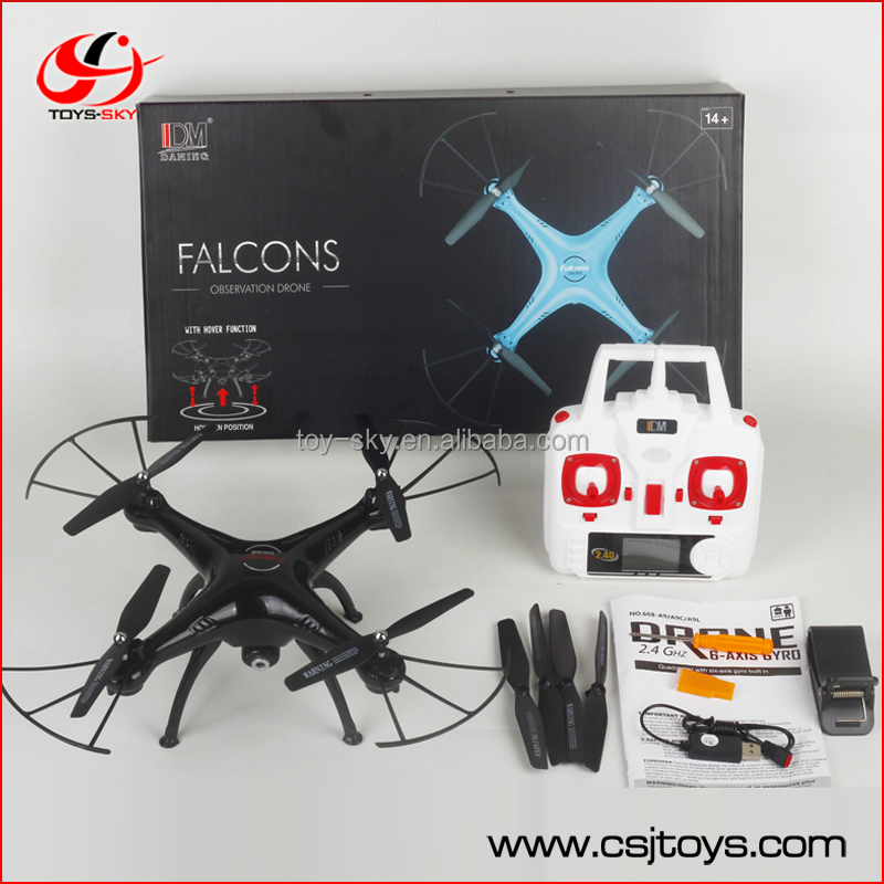 12mins Long flying time Falcons DM006HW WIFI FPV 2.4Ghz 4ch rc drone with Fix height