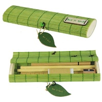Eco Bamboo Souvenir Stationery Gift Set