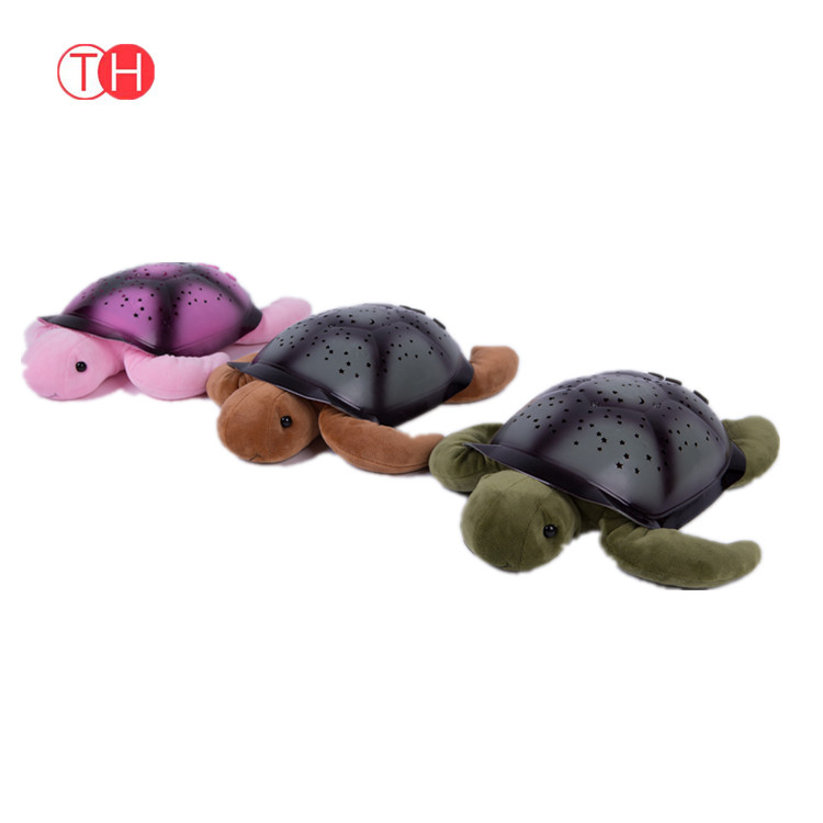 ICTI BSCI factory electric plush turtle early teaching products plush toy