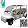Ce Approved Cheap China Supplier New Condition six seaters electric shuttle personal carrier