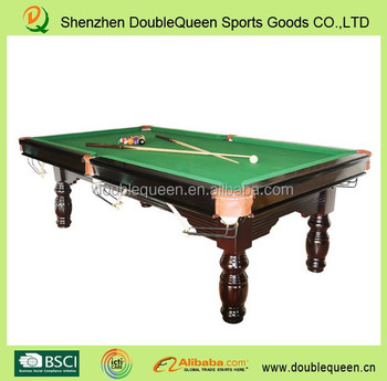 Hot Design Solid Wood Star Snooker Table With Accessories