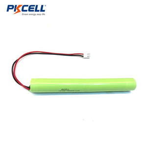 2.4v 18700 4000mah nimh rechargeable battery pack with wires and plugs