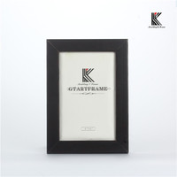 Modern black picture frame