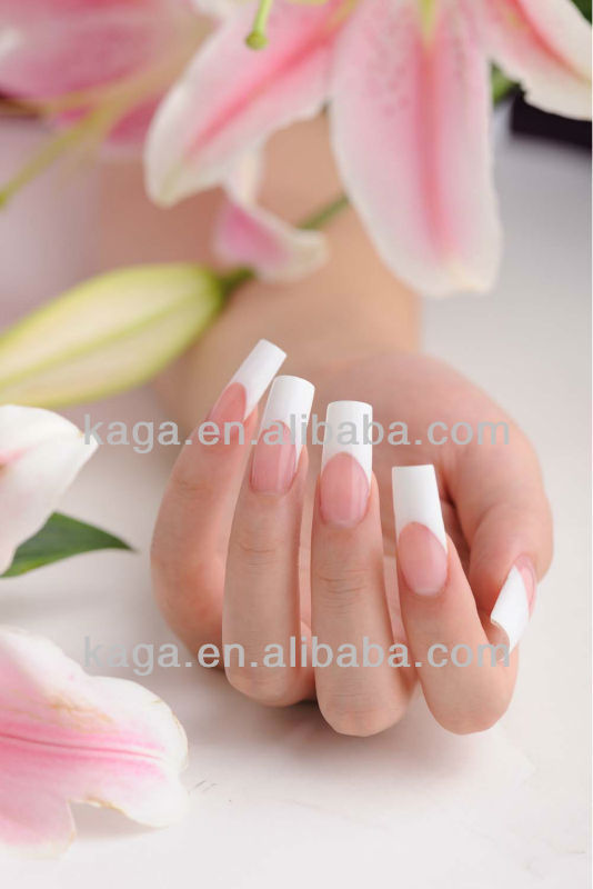 French Manicure Gel Nails Product On Alibaba