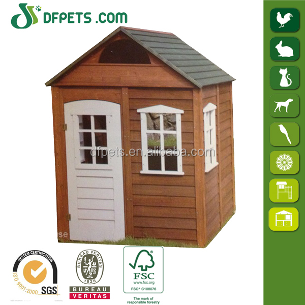 DFPets DFP023 Promotion cheap child wooden house