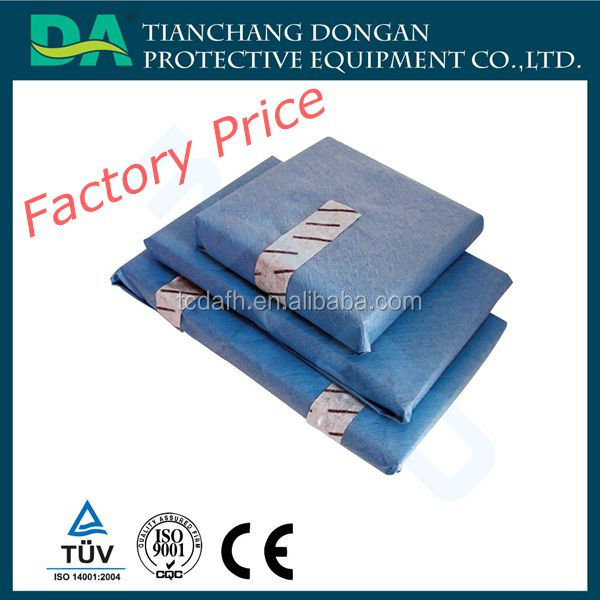 Medical waterproof drape Disposable Surgical Sterile Towel Crepe Paper Wrap