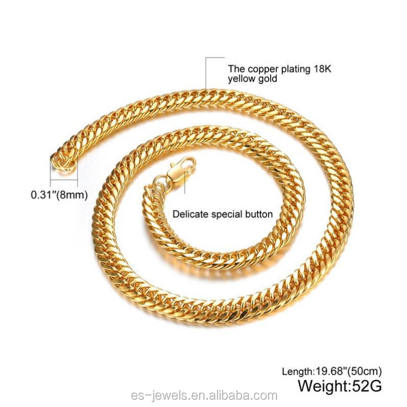 Shenzhen Jewelry 18Kgp Gold Long Chain Pearl Necklace