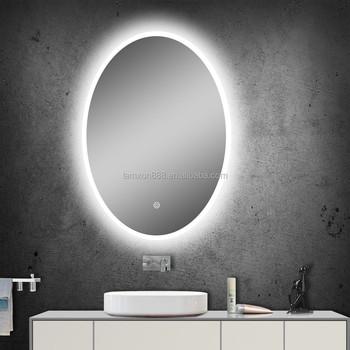 Hochwertige Oval Beleuchtung Led Eitelkeit Bad Spiegel Mit ...
