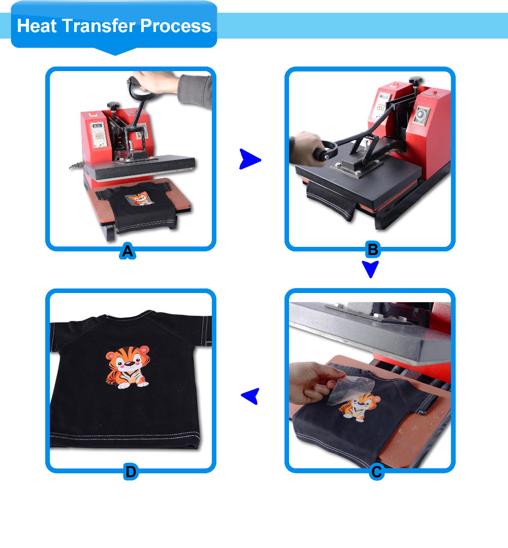 Custom plastisol heat transfers for promotion activity