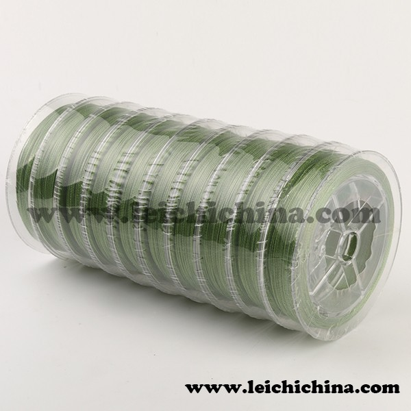 In stock top quality fishing tackle pe braid fishing line