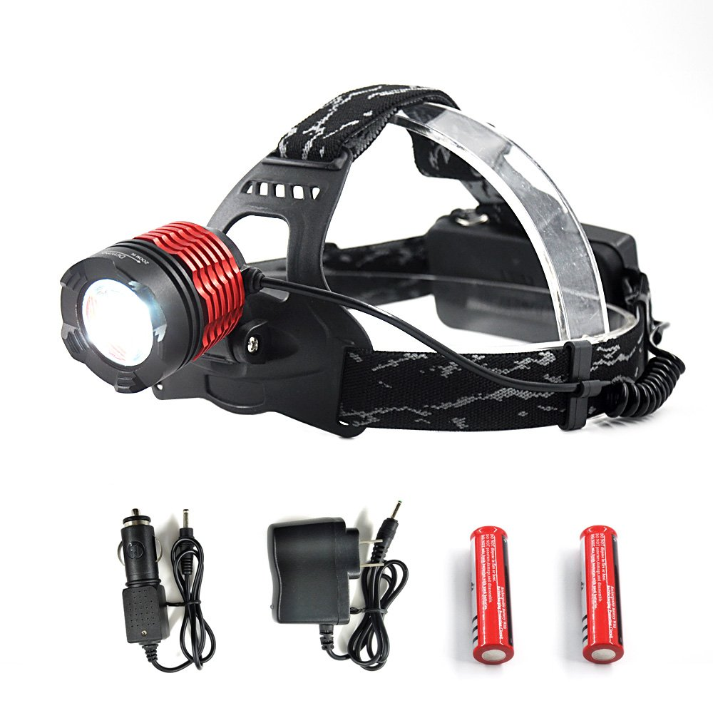 Portable Lighting Headlamps Considerate Led Headlamp Headlight Flashlight Head Light Lamp Torch Fishing For Miner