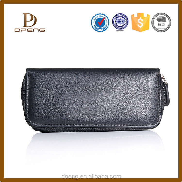 alibaba china Custom wallet genuine leather imperial leather wallet