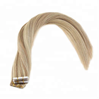 Ombre african american human tape hair extensions tape hair extensions making machine