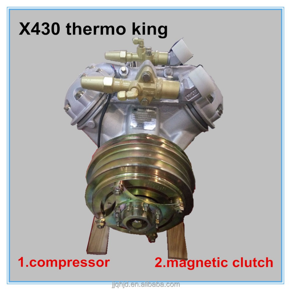 X430 thermo king compressor bus air conditioner 24v magnetic clutch