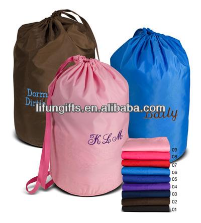 2017 Whole Nylon Drawstring Laundry Bags Bag Product On Alibaba